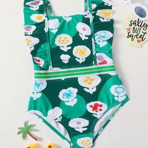 SHEIN baby girl one piece swimsuit!💚